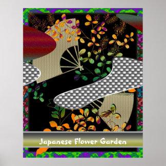 De Japanse Tuin van de Bloem Poster