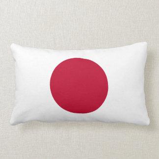 De Japanse Vlag van Japan Lumbar Kussen