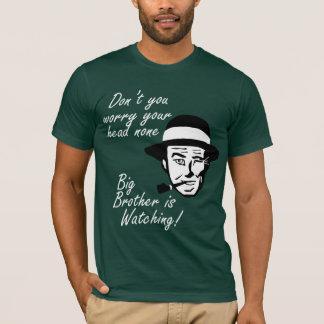 De jaren '50 bemannen: De grote Broer let op T Shirt
