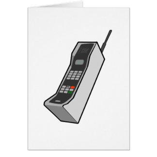 de jaren '80 Cellphone Kaart