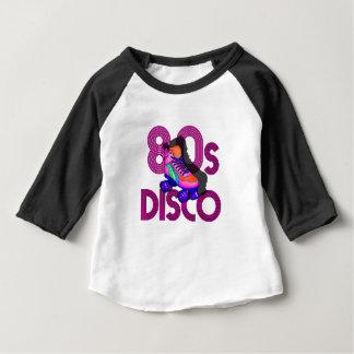 De jaren '80 van de Schaatser van de rol Baby T Shirts