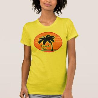 de jaren '80 van de zonpalm t shirt