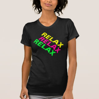 De jaren '80 van Fluro ontspannen het Overhemd van T Shirt