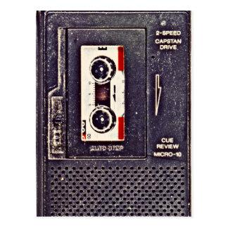de jaren '80 walkman briefkaart