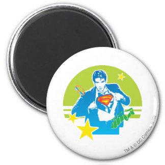 De jaren '80Stijl van de superman Magneet