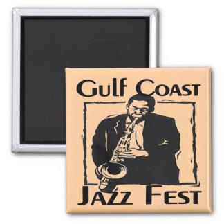 De Jazz Fest van de Kust van de golf Magneet