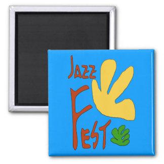 De jazz Fest verlaat 1 Magneet