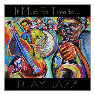 De Jazz van het spel Perfect Poster
