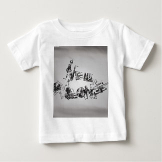 De Jazz van New Orleans Baby T Shirts