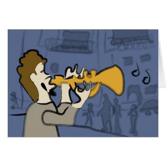 De Jazz van New Orleans Briefkaarten 0