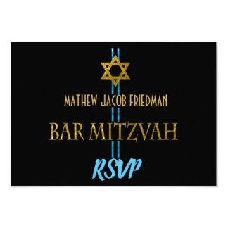 De Jodenster RSVP van de bar mitswa Kaart