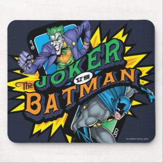De joker versus Batman Muismatten