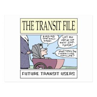 De jonge Gebruikers van de Doorgang Briefkaart