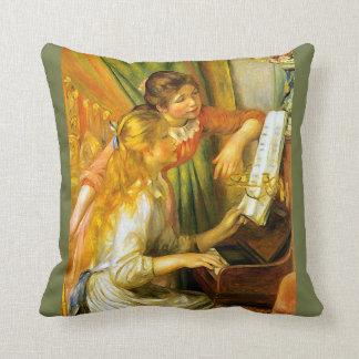De Jonge Meisjes die van Renoir de Muziek van de Sierkussen