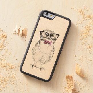 De jonge uil van Nerdy Esdoorn iPhone 6 Bumper Case