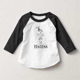De jongelui en Rusteloos - Peuter Shirts