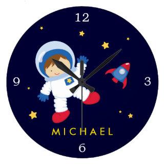 De Jongen RuimteThemed van de astronaut Grote Klok