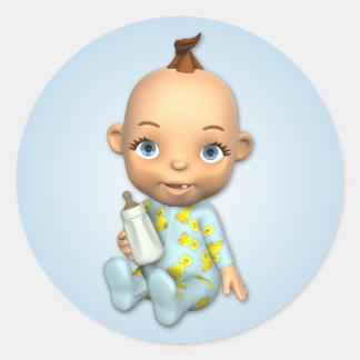 De Jongen Toon Sticker van het baby