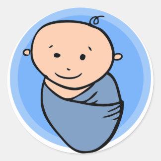 De Jongen van het baby om Sticker