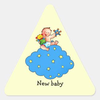 De Jongen van het baby op de Sticker van de