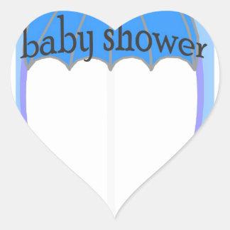 De Jongen van het baby Hartvormige Stickers