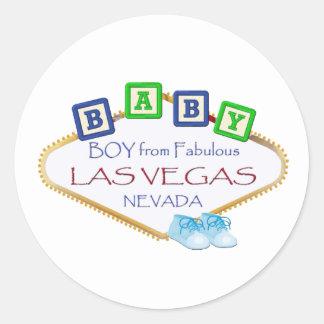 De JONGEN van het baby van de Stickers van Las