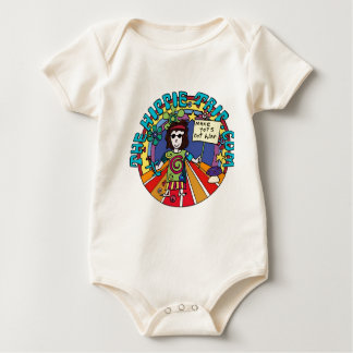 De Jongen van het baby wordt zijn Hippie! Baby Shirt
