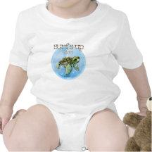 De jongen van Seaturtle surfer - baby Shirts