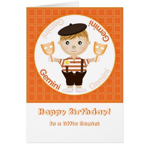 De jongen van tweeling gelukkige verjaardag kaart zazzle - Turquoise ruimte van de jongen ...