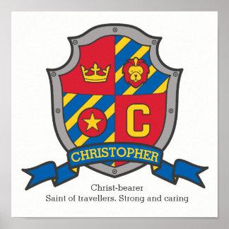 De jongens van Christopher noemen het bedoelen van Poster