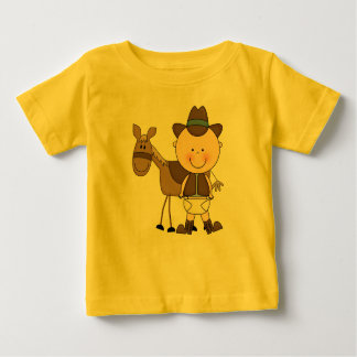 De Jongens van de Peuter van het Baby van het Pony Baby T Shirts