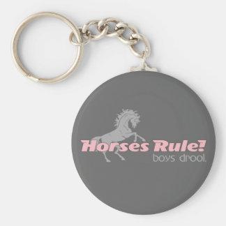 De Jongens van de Regel van paarden kwijlen Sleutelhanger
