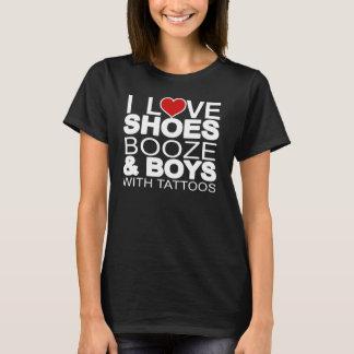 De Jongens van de Sterke drank van de Schoenen van T Shirt