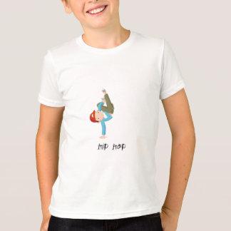 De jongenshiphop van de dans t shirt