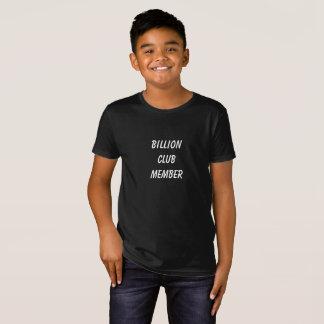 De jongensoverhemd van de Club van Jake Miljard T Shirt
