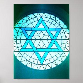 De Joodse Druk van het Poster van de Jodenster