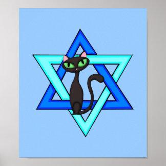 De Joodse Sterren van de Kat Poster