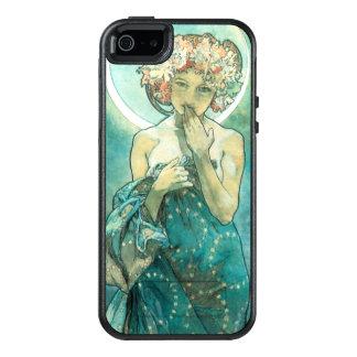 De Jugendstil van Alphonse Mucha Moonlight Clair OtterBox iPhone 5/5s/SE Hoesje