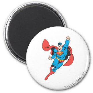 De Juiste Opgeheven Vuist van de superman Ronde Magneet 5,7 Cm
