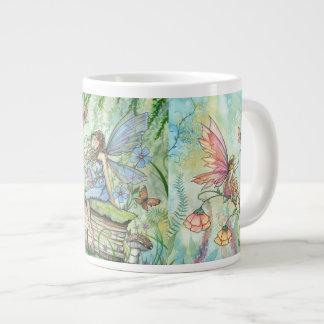 De JumboMok van de Kunst van de Fantasie van de Grote Koffiekop