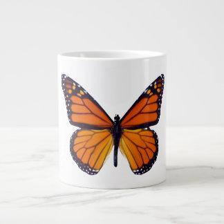 De JumboMok van de oranje Vlinder Grote Koffiekop