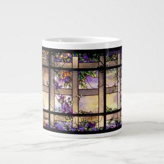 De JumboMok van het Gebrandschilderd glas van de Grote Koffiekop