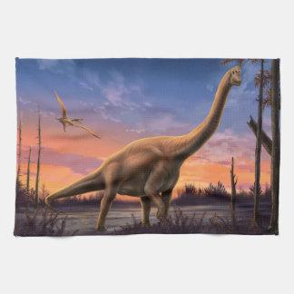 De Jura Handdoek van de Keuken van de Dinosaurus