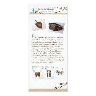 De Juwelen van de Vogel van Kiki Reclamekaart