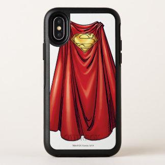 De Kaap van de superman OtterBox Symmetry iPhone X Hoesje