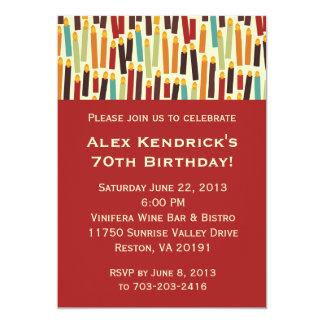 De Kaarsen van de verjaardag - Rood Kaart