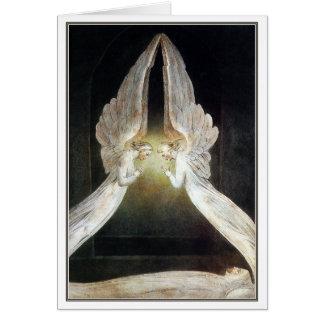 De Kaart/de Uitnodiging van Blake: Christus Wenskaart