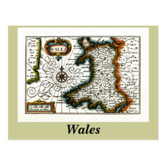 De Kaart en/of de Vlag van Wales