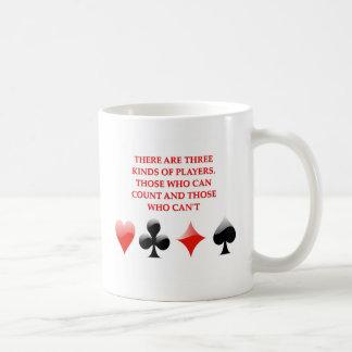 de kaart spelers gekscheren koffiemok