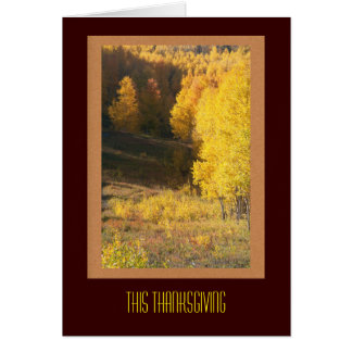 De Kaart Thanksgiving van de bedrijfs van de